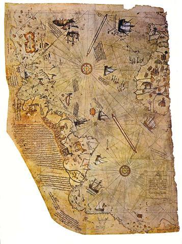 Mapa de Piris Rei